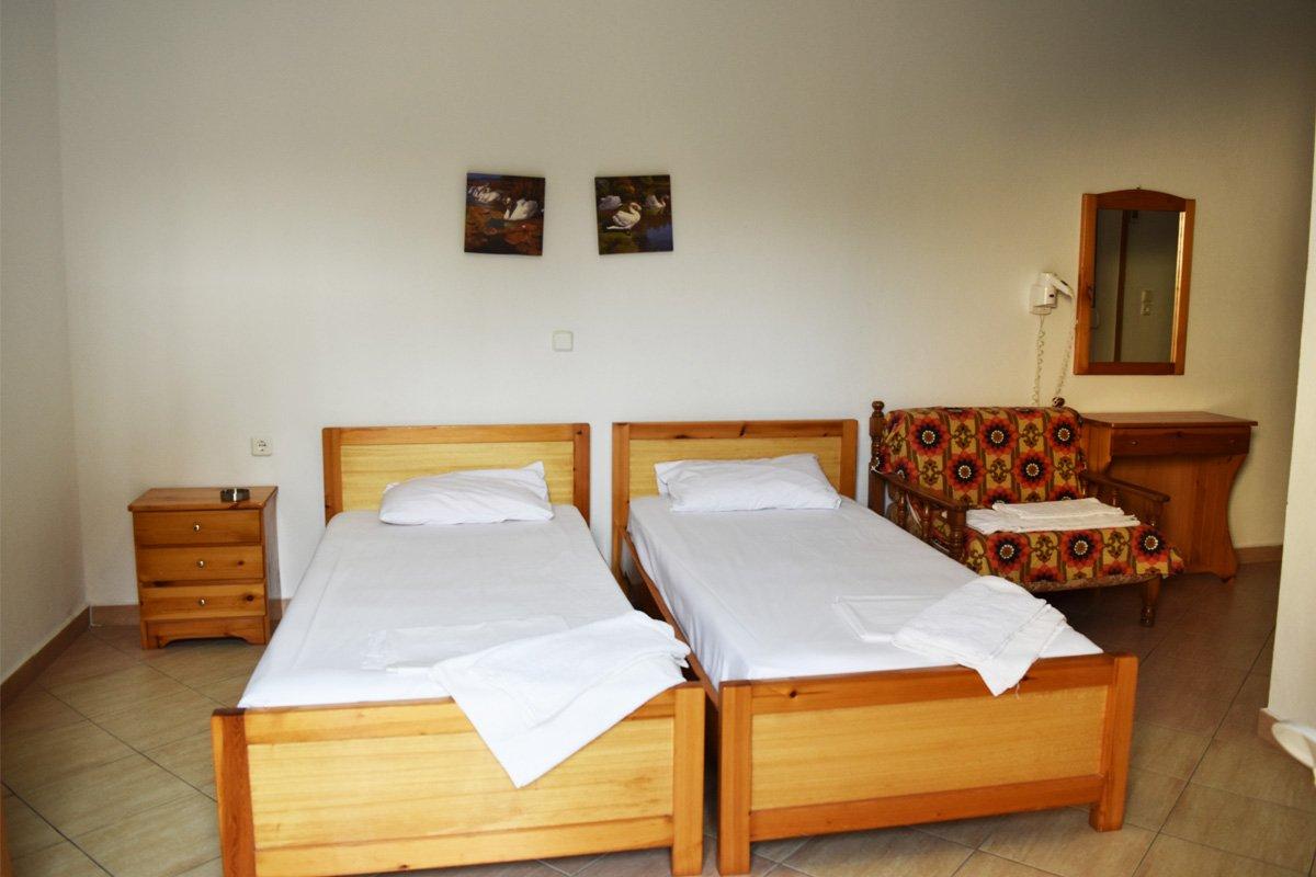 Soba u vili Dimitris