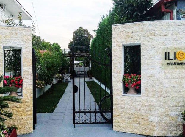 Vila Ilios dvorište