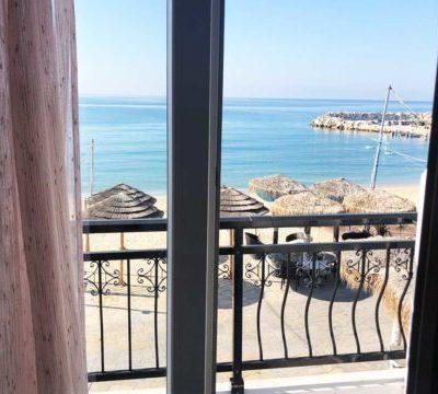 Vila Rania, pogled na more