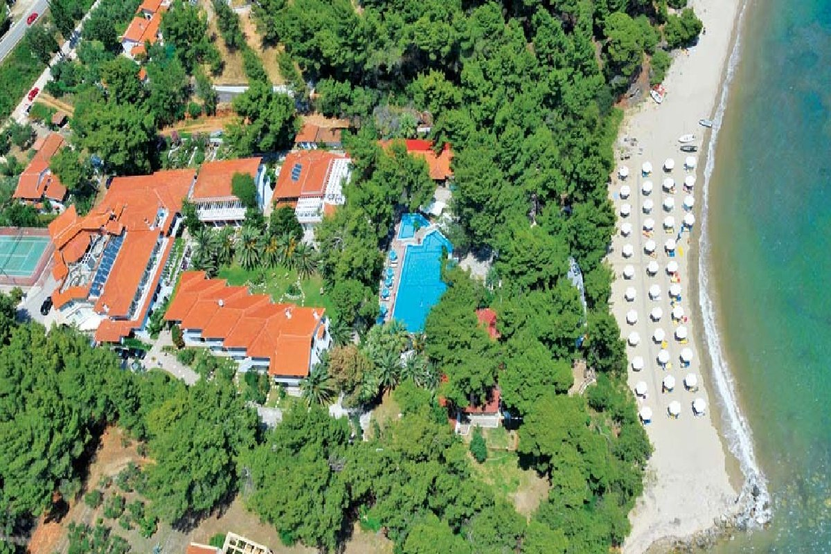 Hotel Porfi Beach-panorama