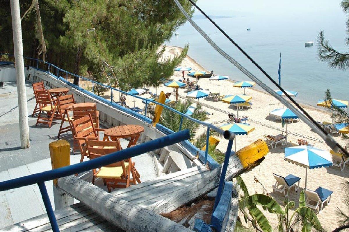 Hotel Porfi Beach-pogled na plažu