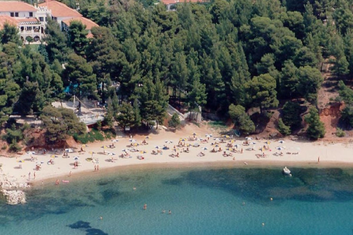 Hotel Porfi Beach-plaža