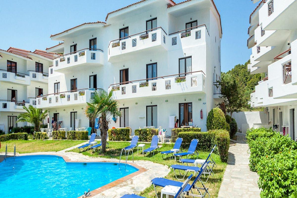 Hotel Xenios Dolphin Beach spolja