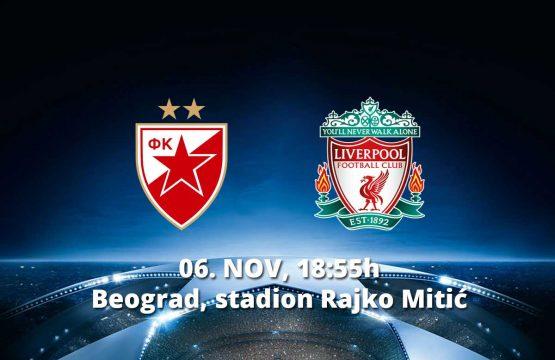 Crvena Zvezda v Liverpool - Fudbal, Sportski Dogadjaji - AquaTravel.rs