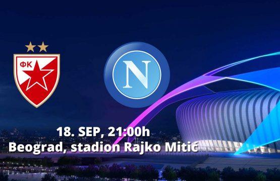 Crvena Zvezda v Napoli - Fudbal, Sportski Dogadjaji - AquaTravel.rs