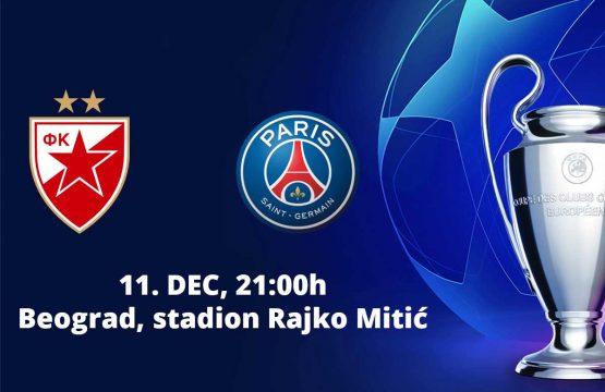 Crvena Zvezda v PSG - Fudbal, Sportski Dogadjaji - AquaTravel.rs
