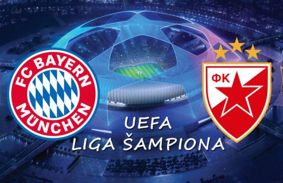 Bayern vs Crvena Zvezda - Liga šampiona, Fudbal - Sportski dogadjaji - AquaTravel.rs