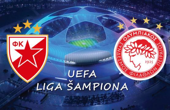 Crvena Zvezda vs Olympiacos - Liga šampiona, Fudbal - Sportski dogadjaji - AquaTravel.rs