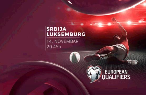 Srbija vs Luksemburg - EURO 2020 - Sportski dogadjaji - AquaTravel.rs