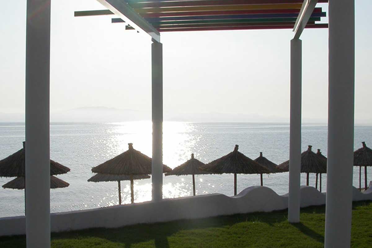 Al Mare hotel plaža Polihrono