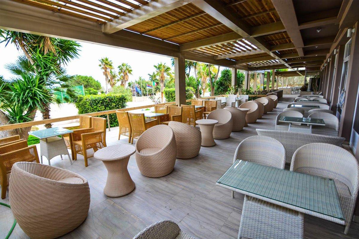 Aqua Mare Resort kafe