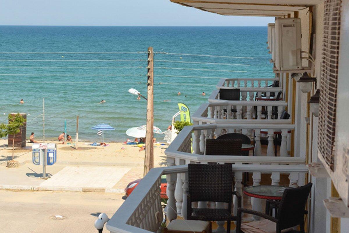 Atlantis hotel pogled sa terase