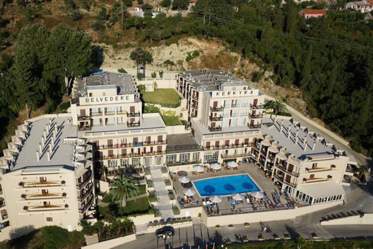 Belvedere Hotel smeštaj na Krfu