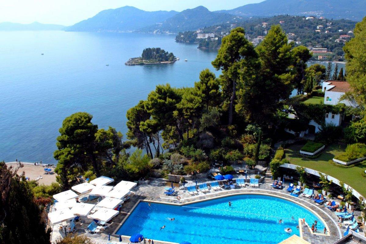 Corfu Holiday Palace bazen