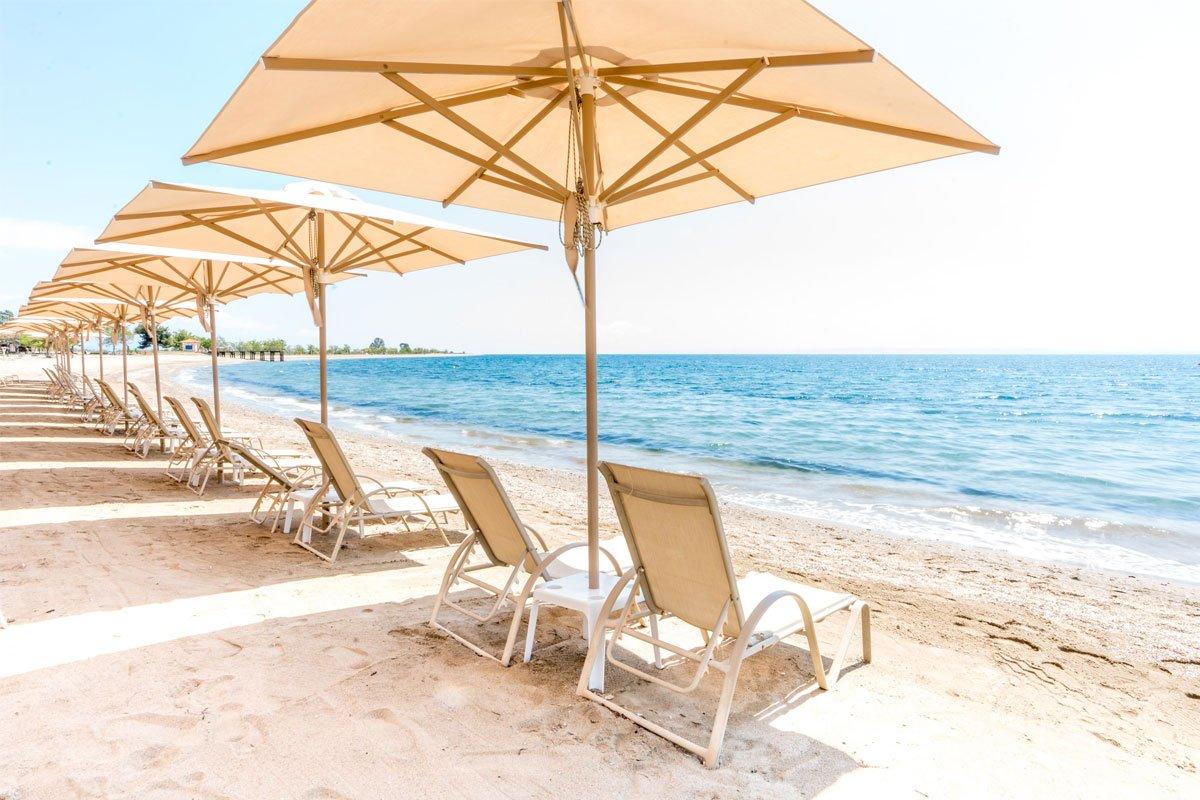 Cronwell Resort Hotel plaža Psakoudija