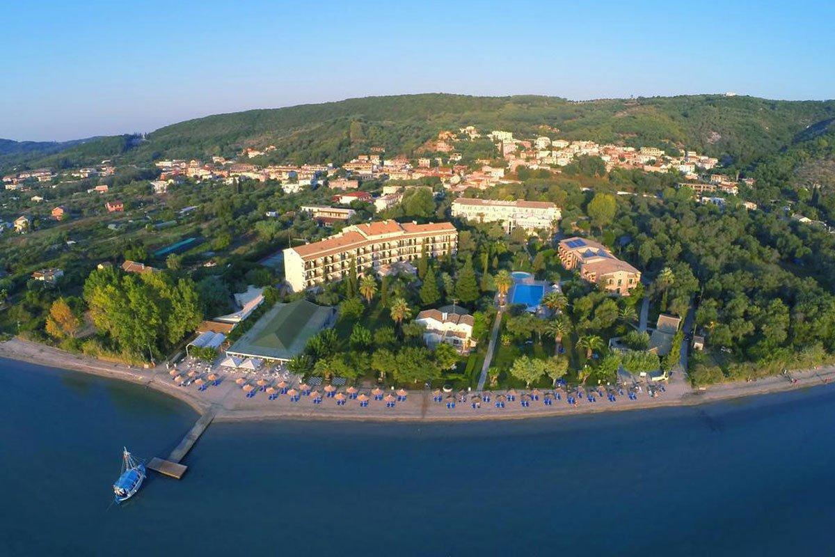 Delfinia hotel panorama