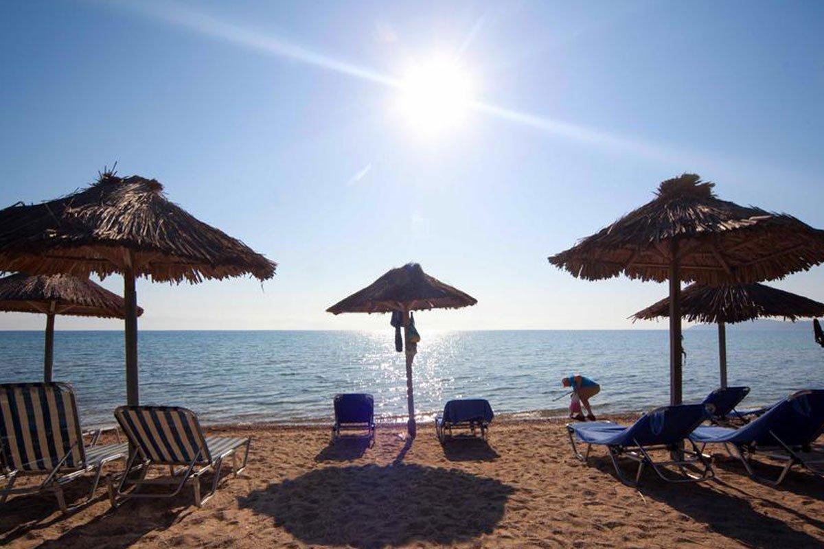 Delfinia hotel plaža