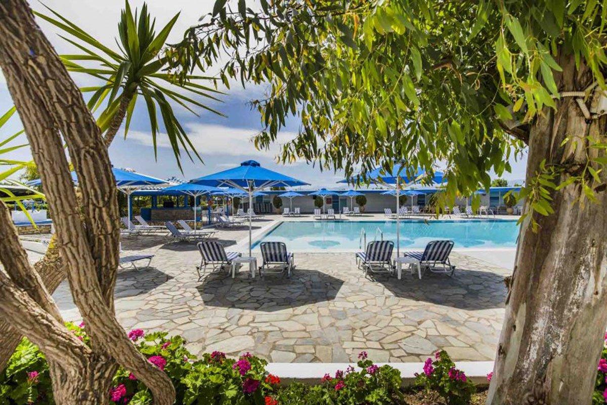 Delphi Beach hotel panorama