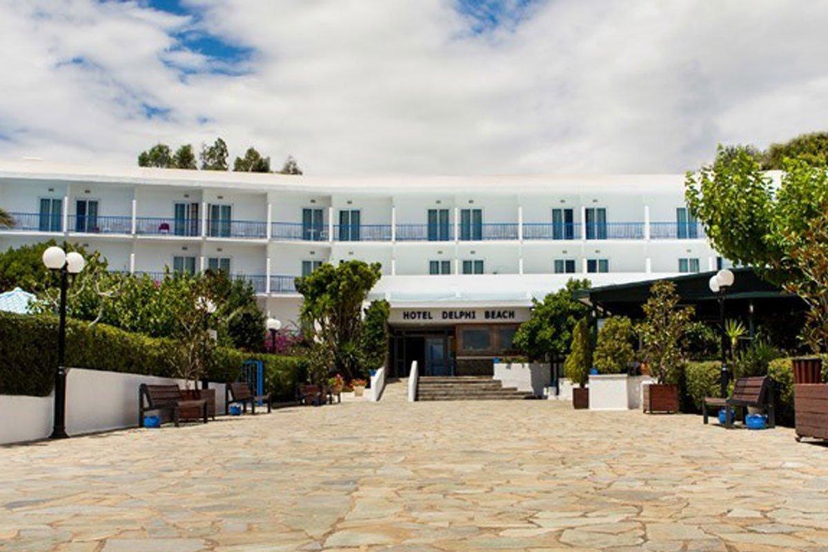 Delphi Beach hotel spolja