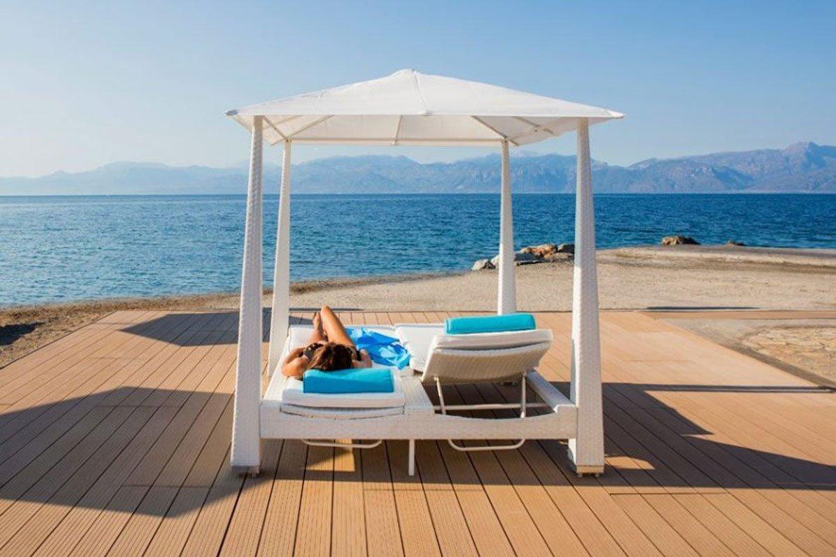 Delphi Beach hotel plaža