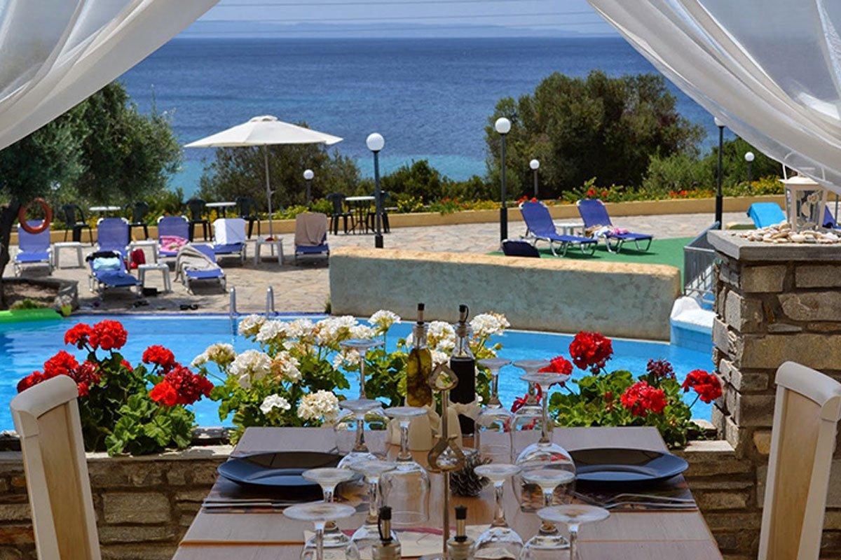 Elea Beach Hotel odmor Sitonija