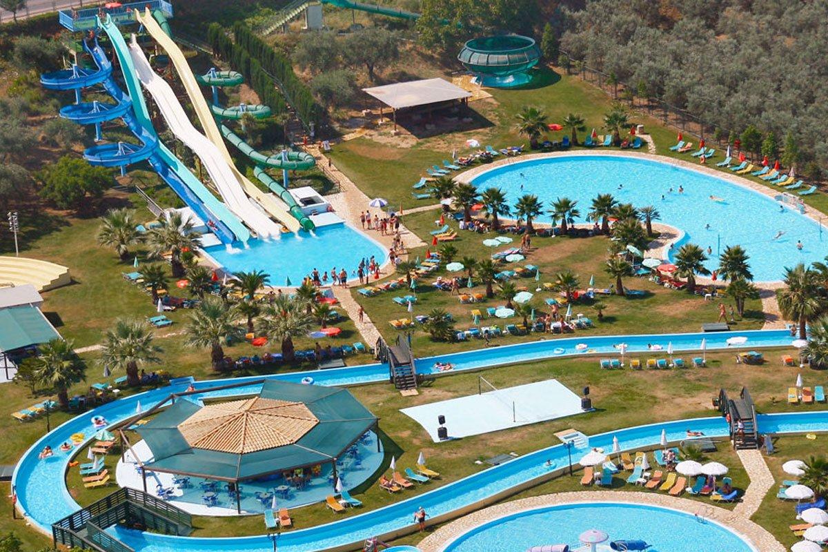 Gelina Village & Aqua Park kompleks na Krfu