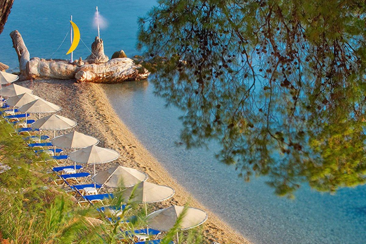 Athena Palace Village plaža Nikiti