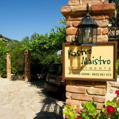 Kastro Maistro Hotel ulaz