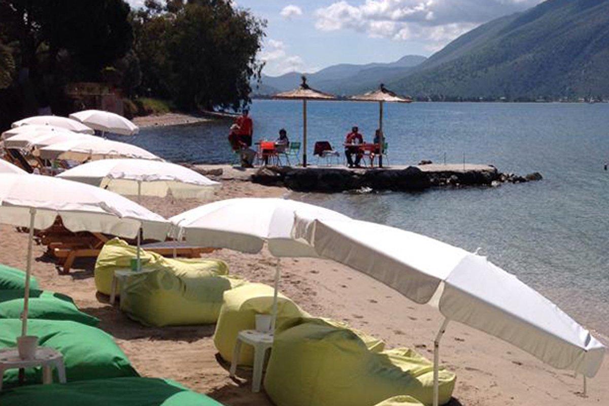 Plataria Seaside Resort plaža Sivota