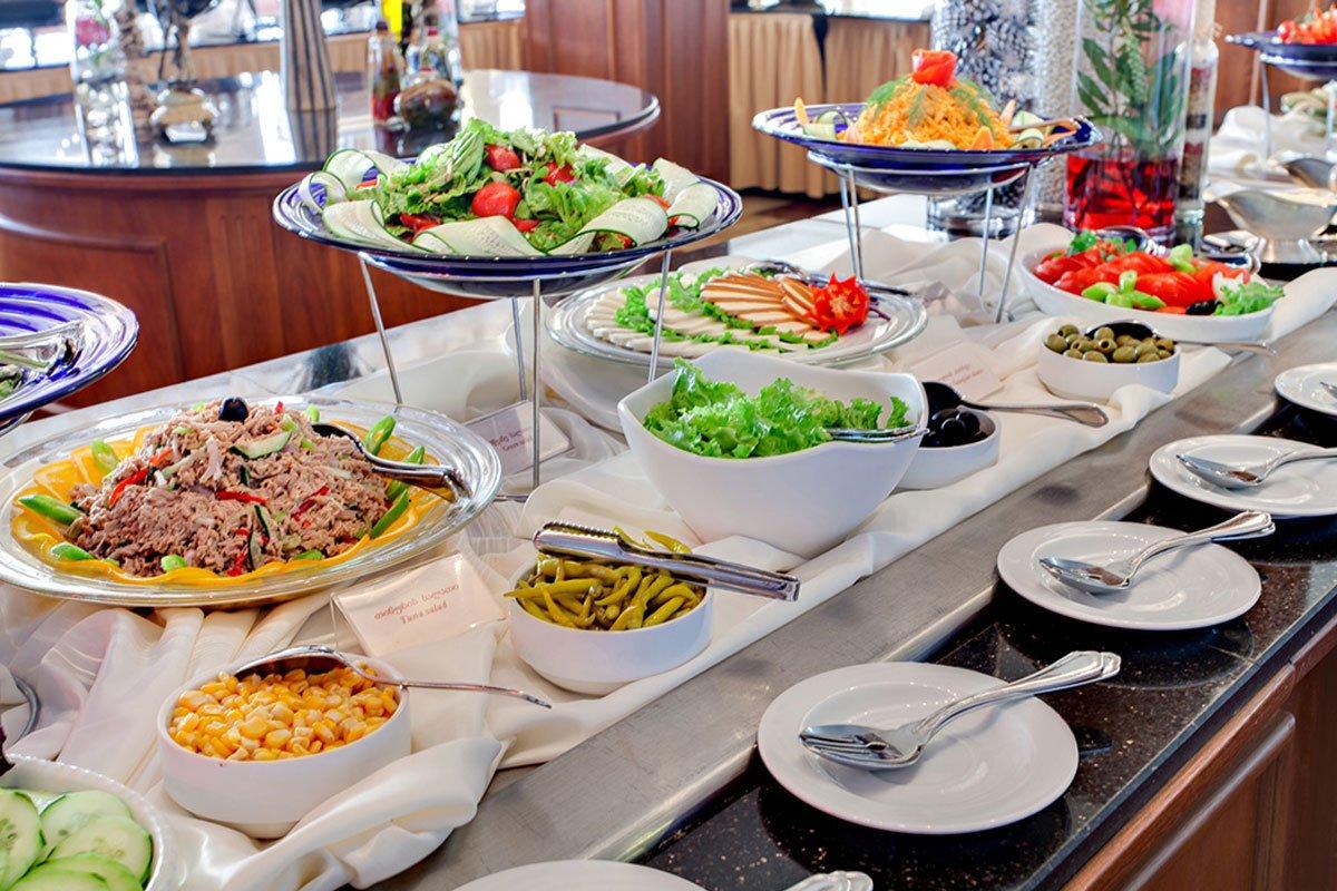 Porto Rio hotel švedski sto
