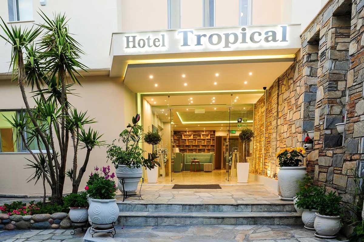 Tropical hotel ulaz