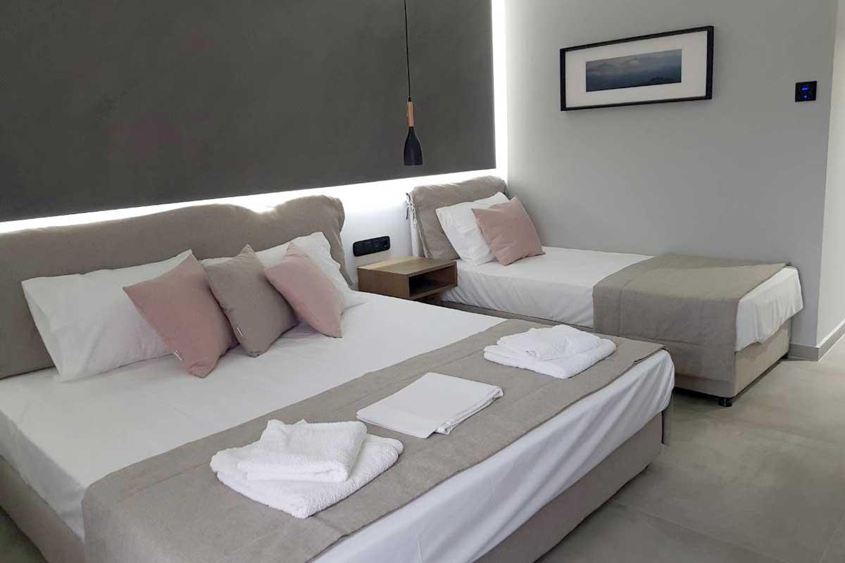 Tropical hotel apartman
