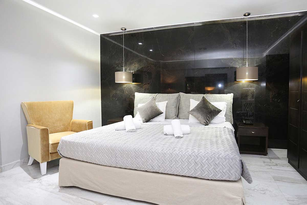 Tropical hotel spavaća soba
