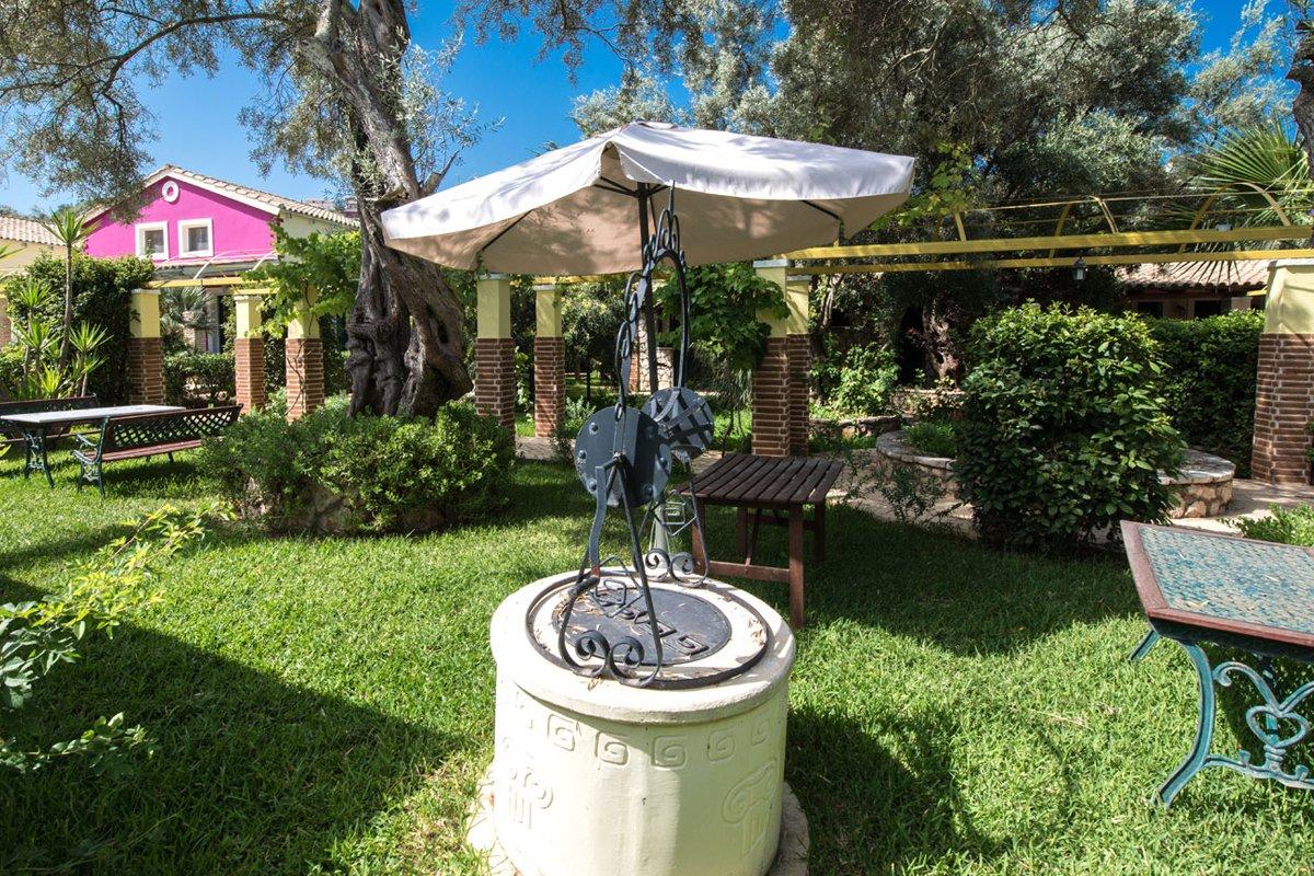 Vilaggio Maistro dvorište
