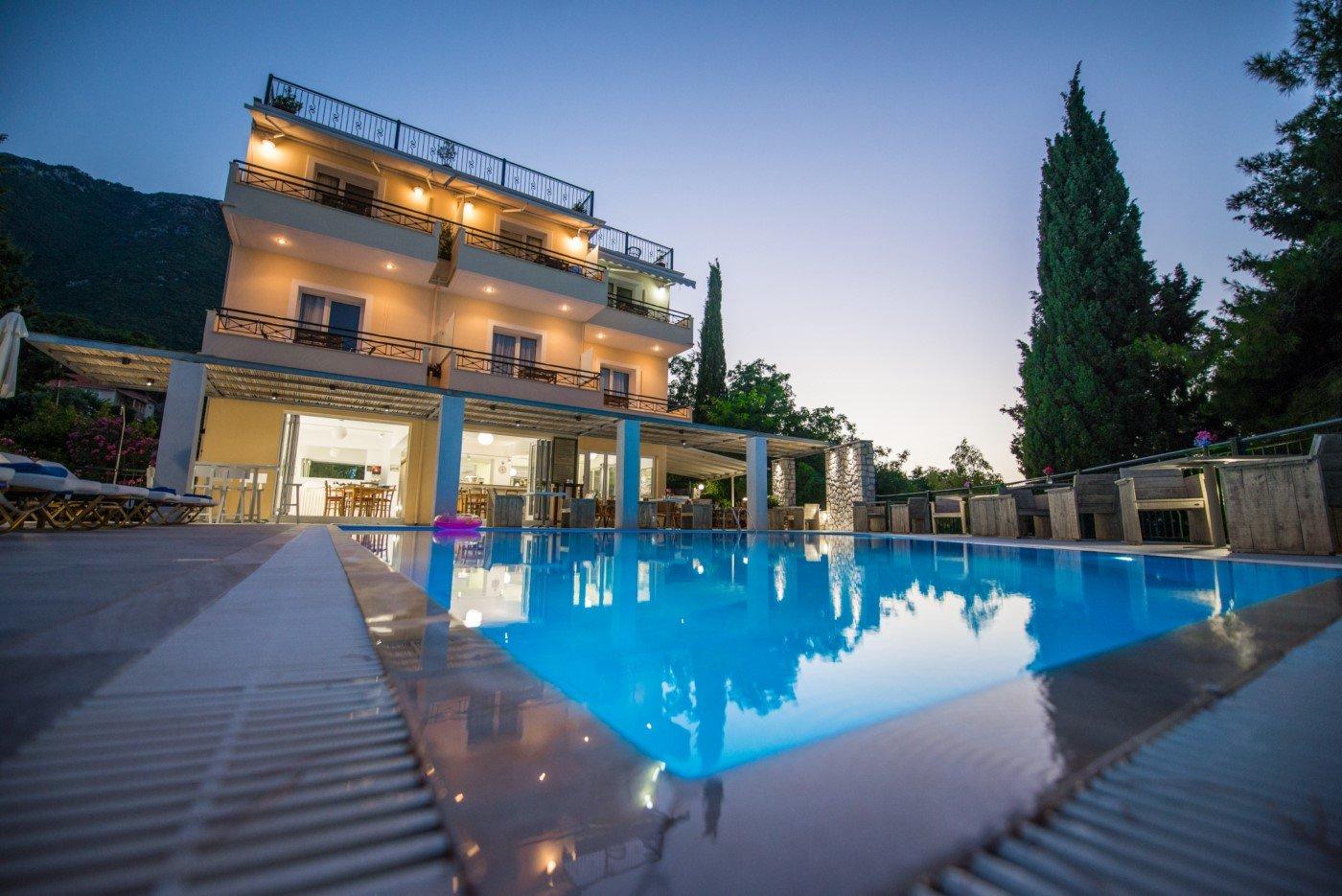 Aliki hotel letovanje Lefkada