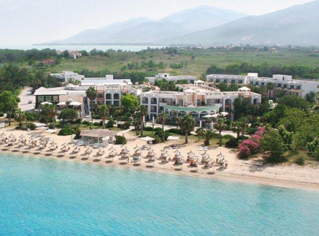 Ilio Mare hotel plaža Tasos