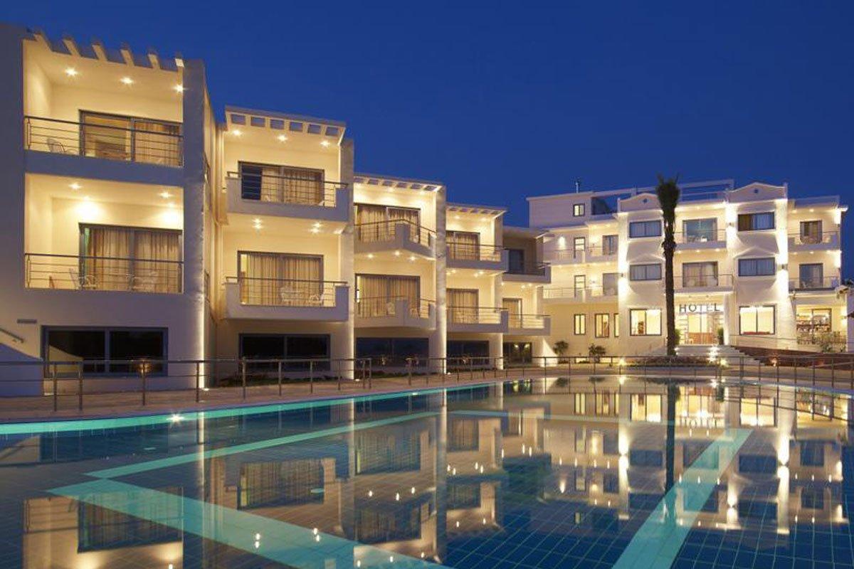 Ionian Teoxenia hotel spolja