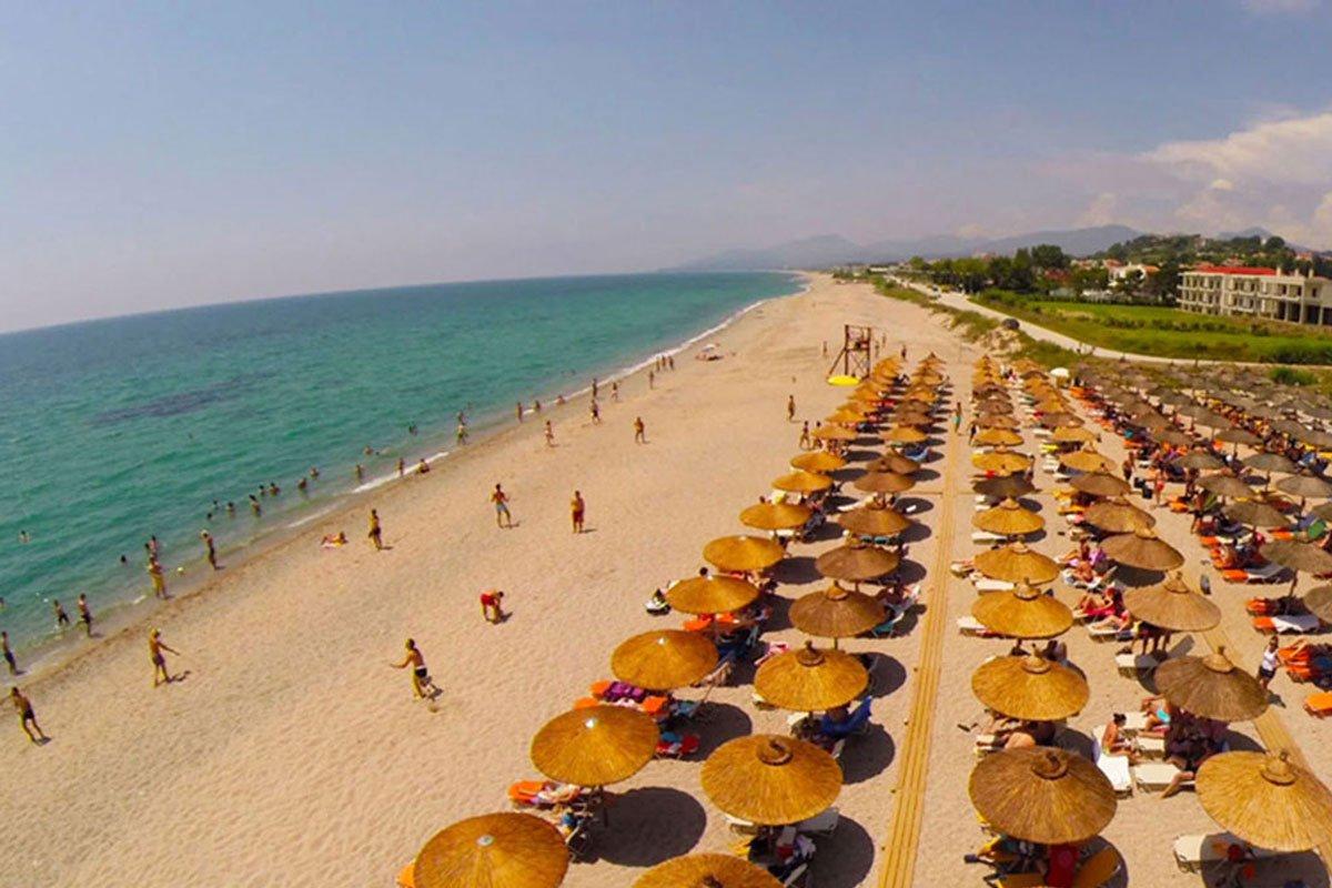 Kanali Beach Hotel plaža