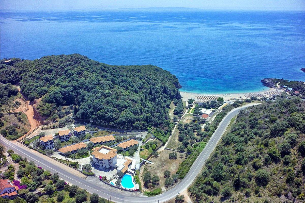 Mega Ammos Hotel Sivota panorama