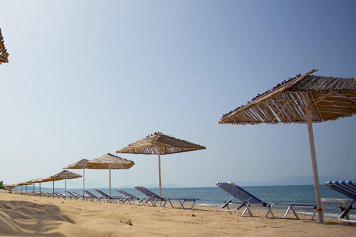 Poseidon Beach hotel plaža