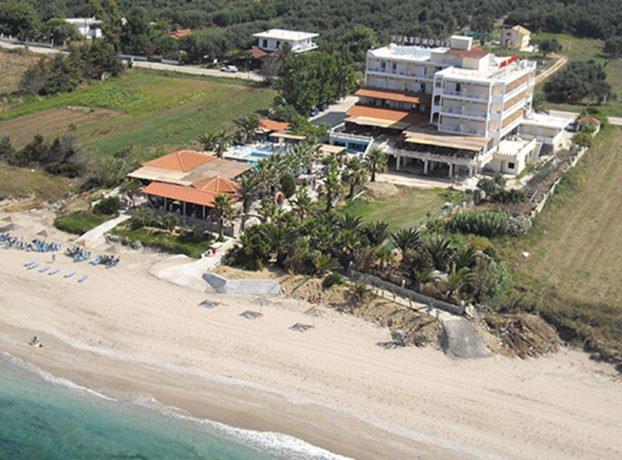 Poseidon Beach hotel plaža Kanali