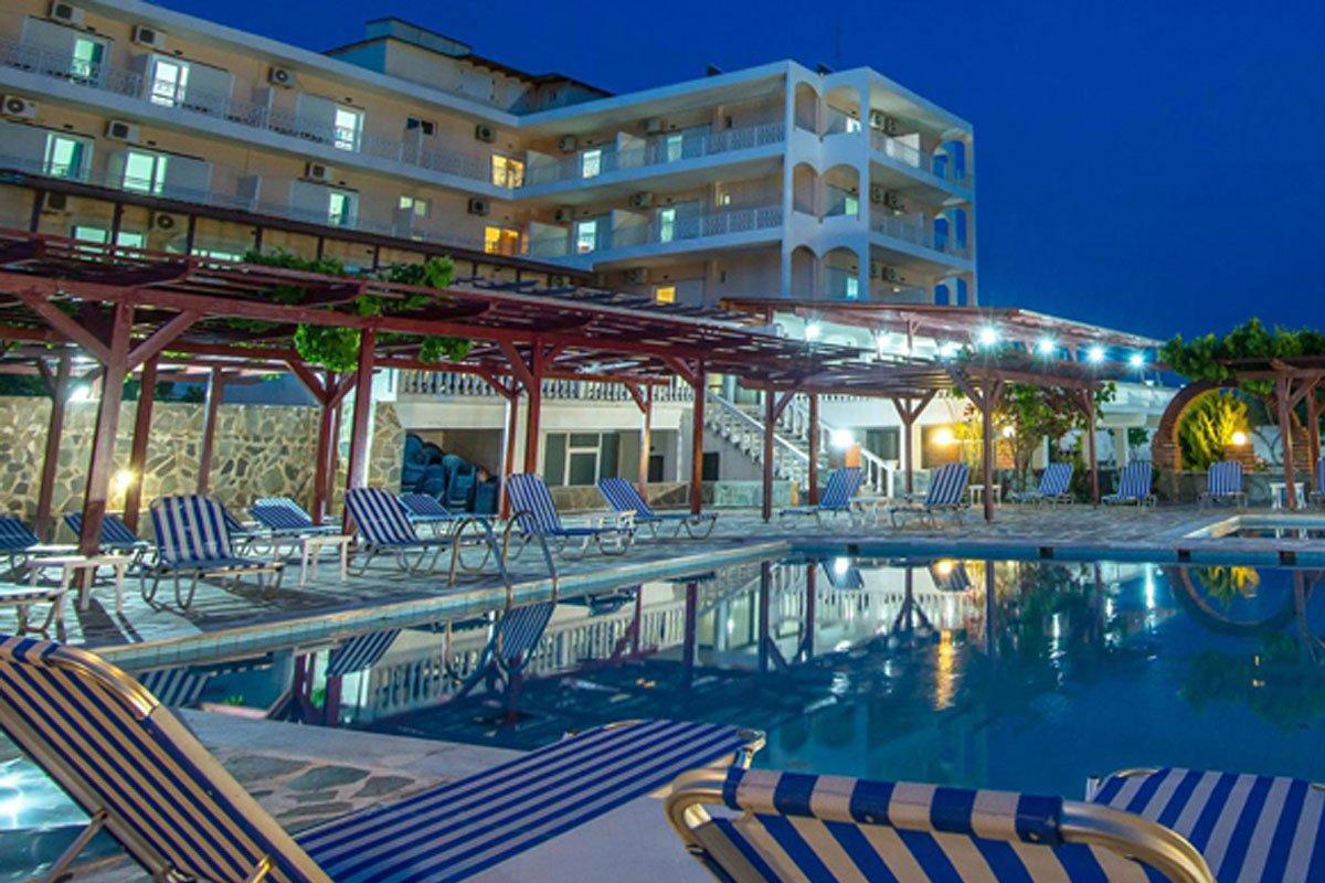 Poseidon Beach hotel letovanje Kanali
