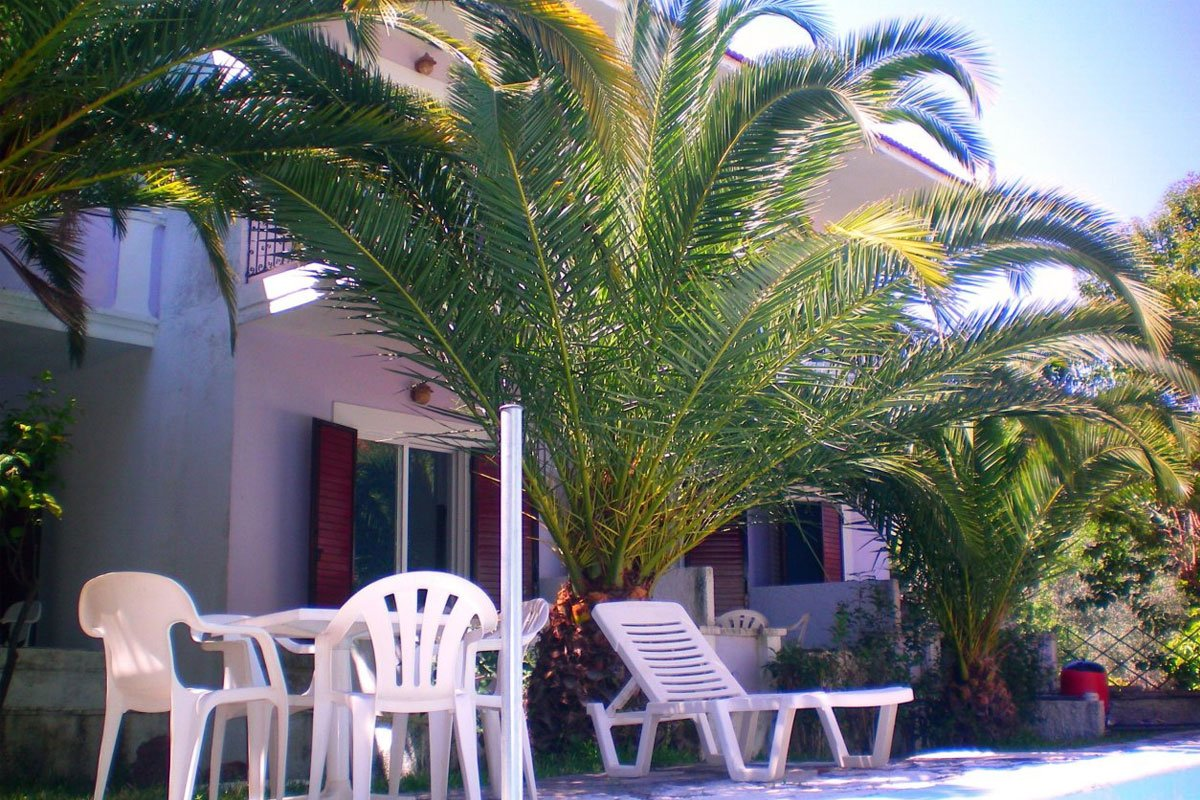 Sunshine Inn dvorište
