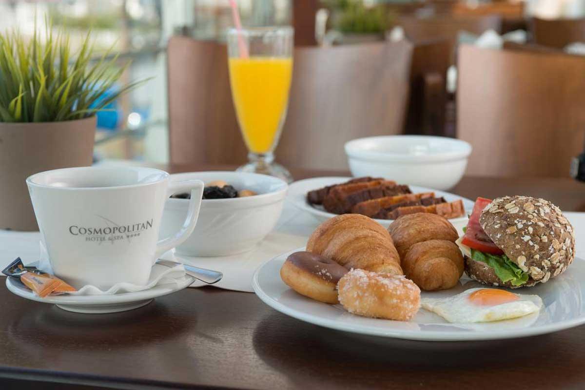 Cosmopolitan Hotel & Spa doručak