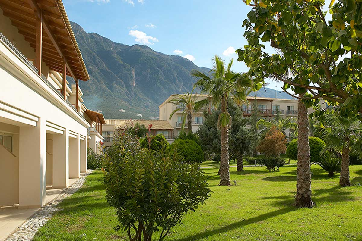 Hotel Grecotel Filoxenia dvorište