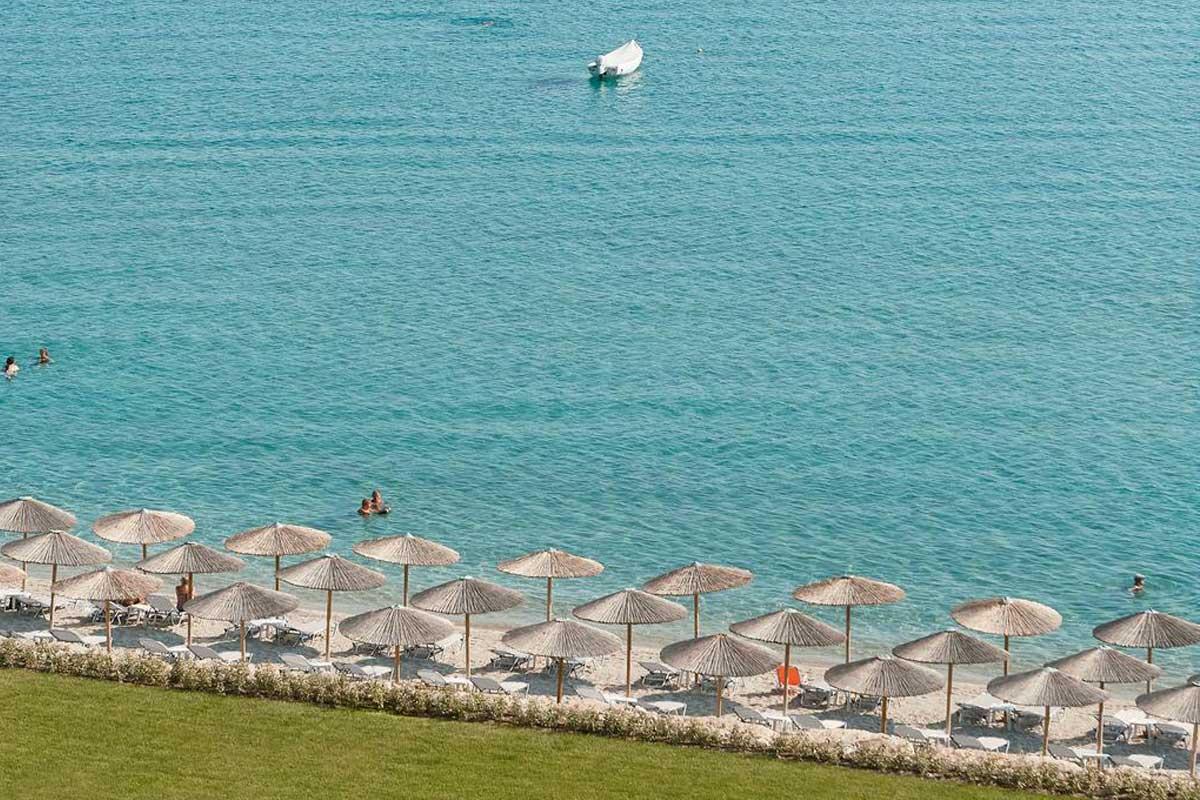 Hotel Grecotel Margo Bay plaža Hanioti