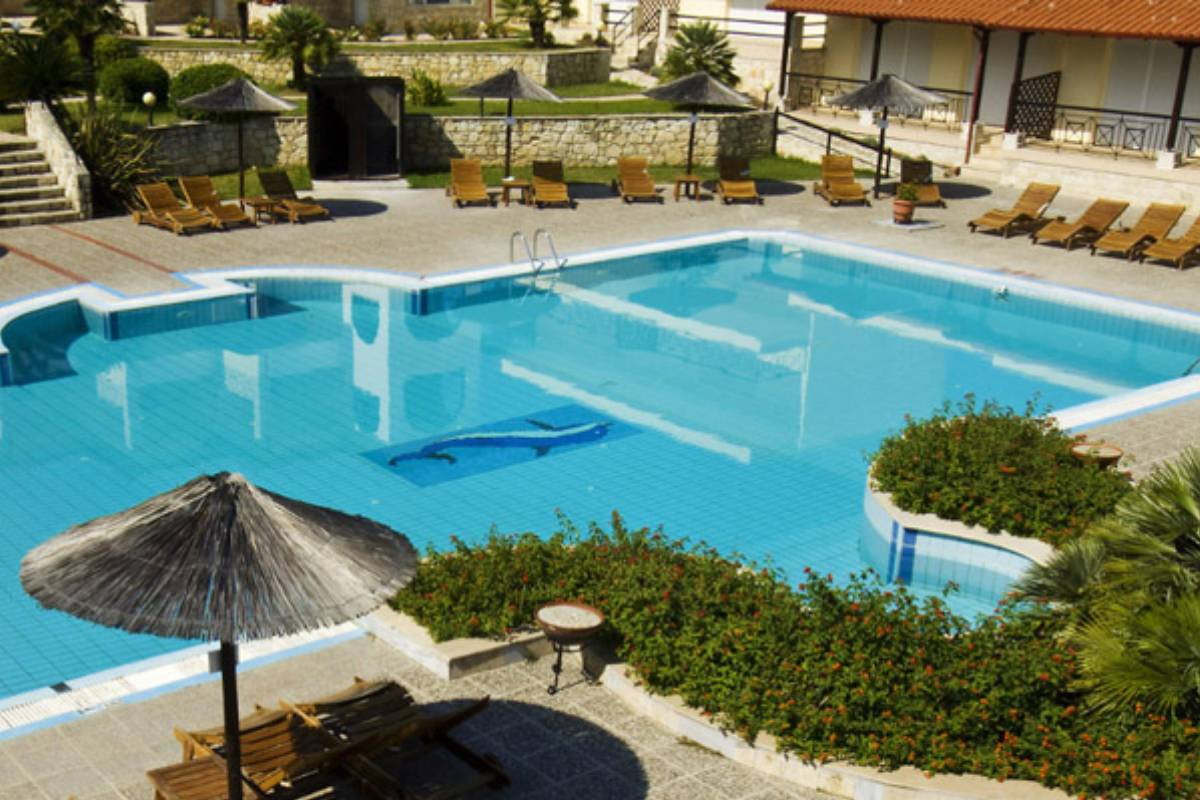 Hotel Blue Bay bazen