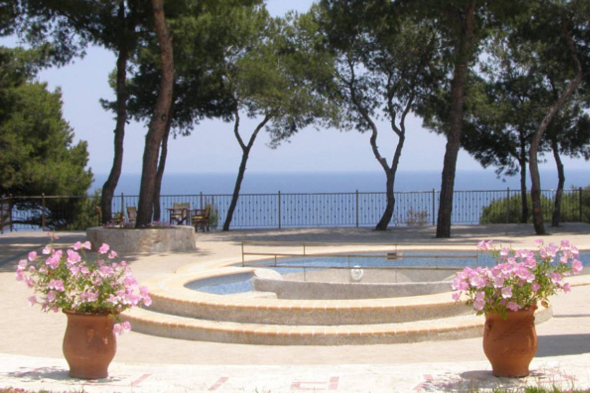 Hotel Evripidis pogled na more
