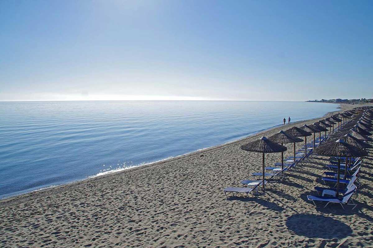 Hotel Sun Beach plaža Platamon