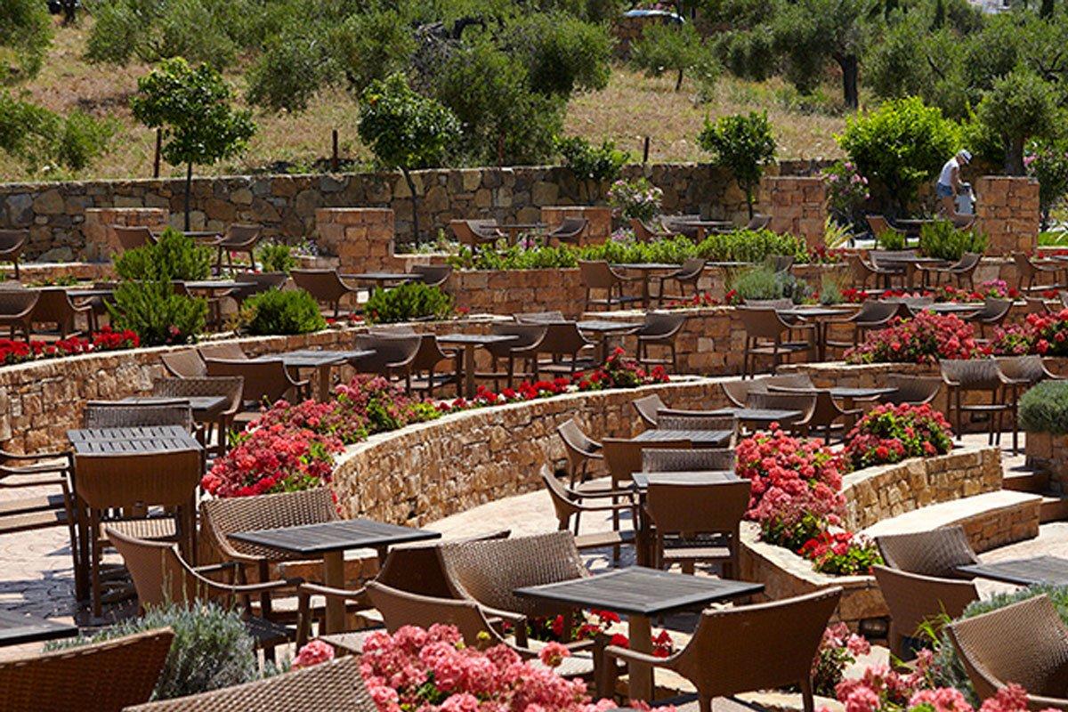 Hotel Anthemus Spa & Resort restoran terasa